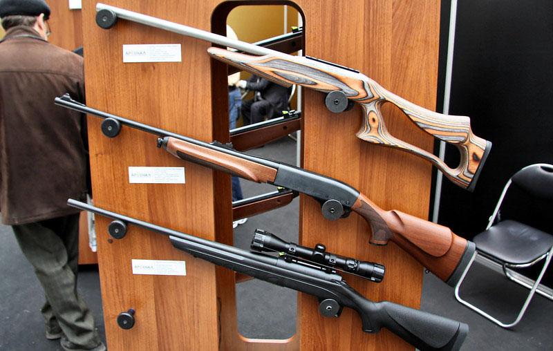 Цены на охотничье нарезное оружие