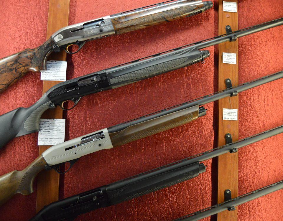 Выбор оружия для охоты